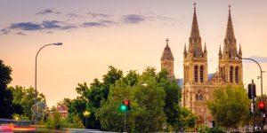 City of Adelaide skyline